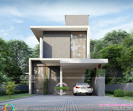 Small minimal home design