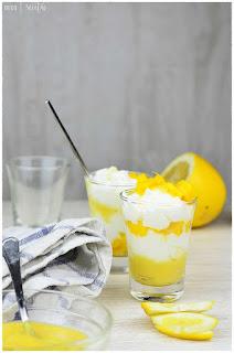 Lemon Curd- crema de limón- Cómo realizar la crema inglesa de limón en thermomix, microondas y al calor del fuego-Receta de yogur de coco con mango y lemon curd o crema de limón.