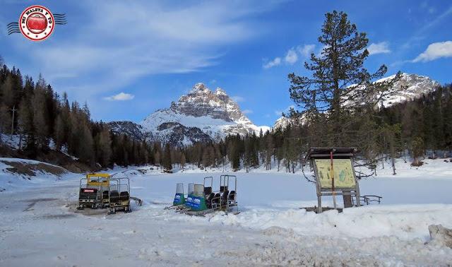Lago d'Antorno, Montes Dolomitas