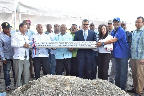 INAPA invierte más de RD$627 millones en agua potable y saneamiento para San Cristóbal