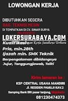 Open Recruitment at KSP Central Usaha Mandiri Mojokerto September 2020