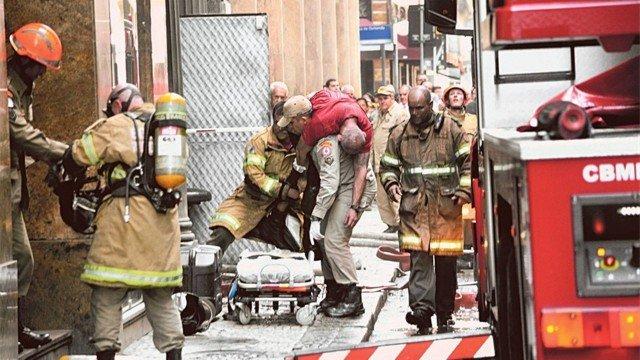 'É uma dor enorme', diz comandante do Corpo de Bombeiros sobre tragédia no Centro do Rio