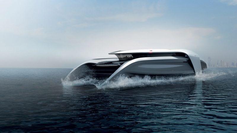 186d09c6f El catamarán del diseñador Cas Dahmen es un concepto de lujo que respeta el  medio ambiente