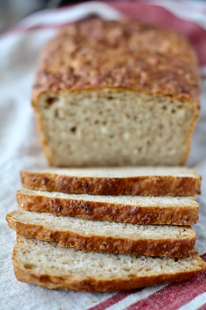 Oatmeal Maple Bread
