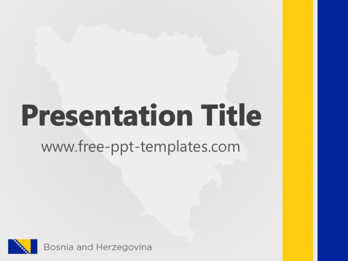 Free powerpoint templates bosnia and herzegovina ppt template toneelgroepblik Image collections