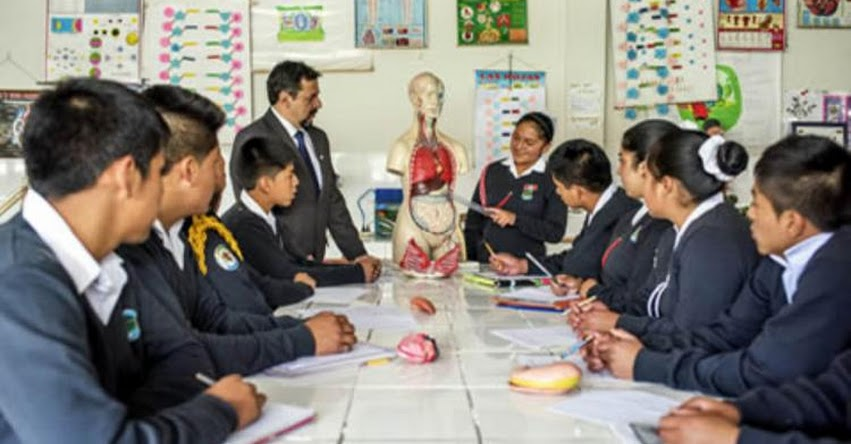 MINEDU: Jornada Escolar Completa se implementa este año en 2,000 escuelas de secundaria - www.minedu.gob.pe