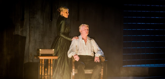 Ruxandra Donose, Clive Bayley - Verdi Don Carlo - Grange Park Opera - photo Robert Workman