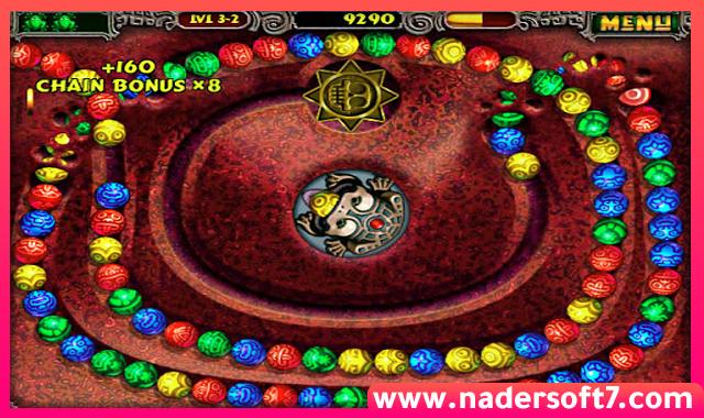 تحميل لعبة زوما Zuma القديمة والاصلية للكمبيوتر من مديا فير