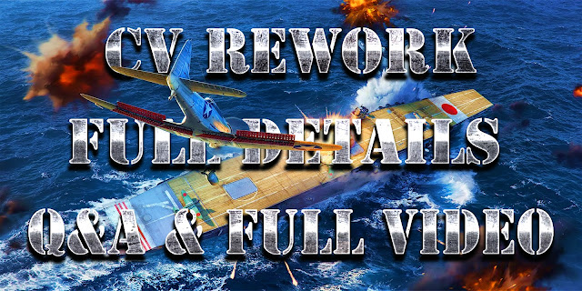 World of Warships CV Rework 2018 First View Full Video