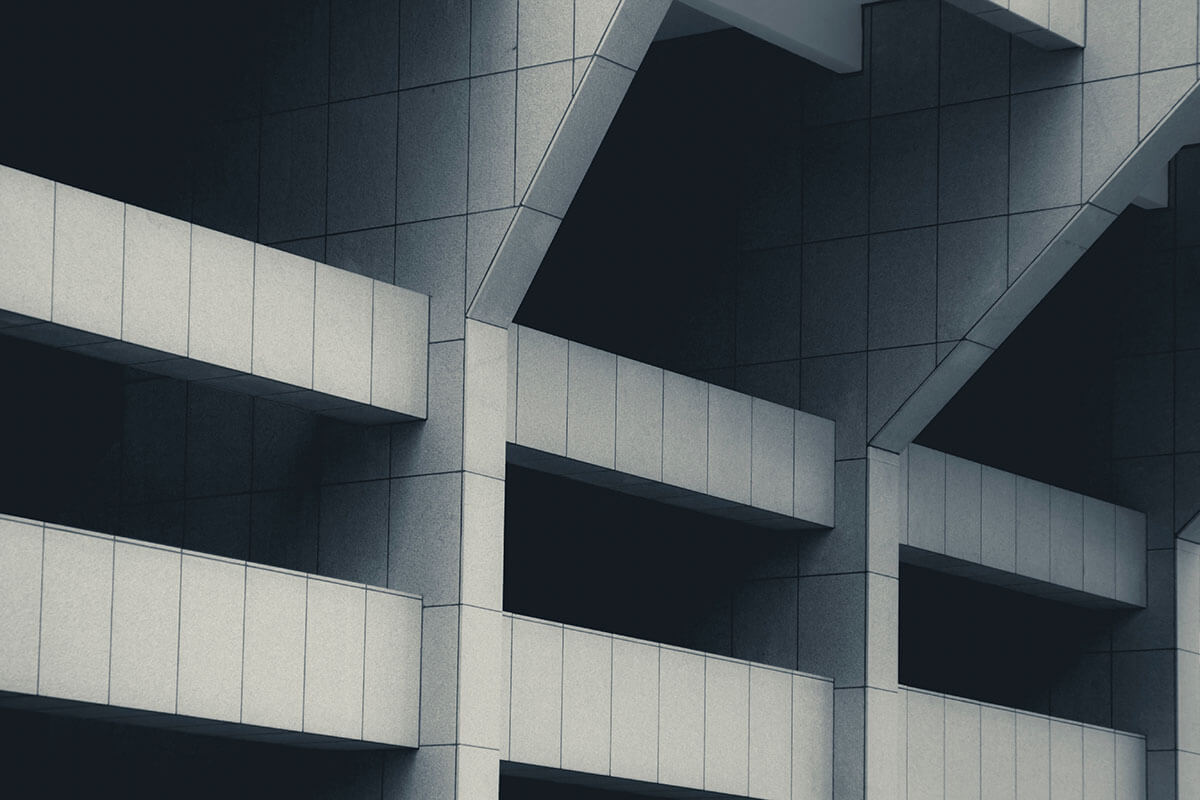 Abstract architectural design architecture