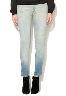 Jeansi bleu slim fit