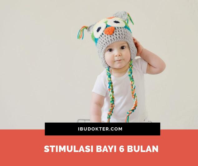 Stimulasi Bayi 6 Bulan