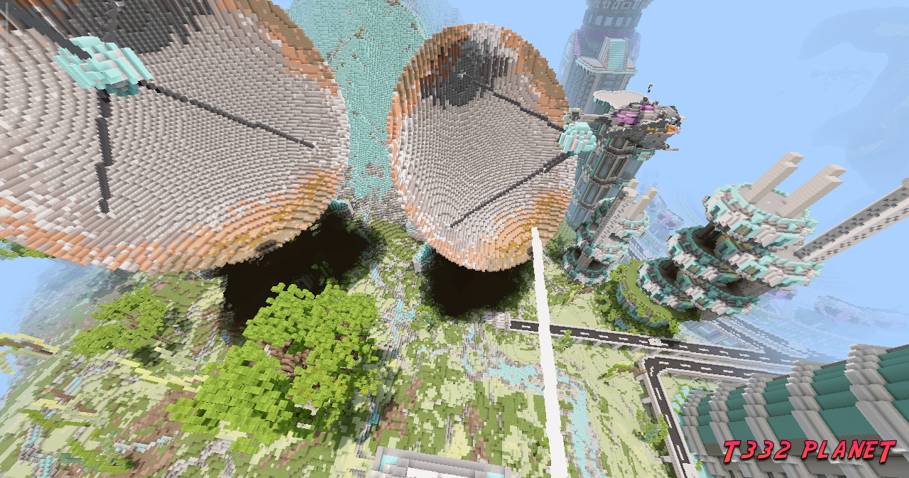 T332 Planet - Minecraft BE Map - GAMING BLOG