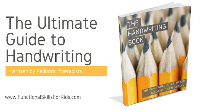 The Handwriting Book for parents, teachers, and Occupational Therapists