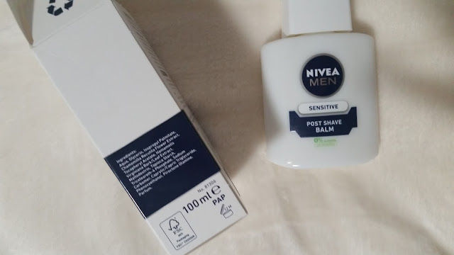 Nivea Post Shave Balm As Primer