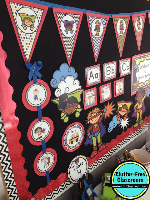 Superhero Classroom Decoration Ideas ~ Superheroes themed classroom ideas printable