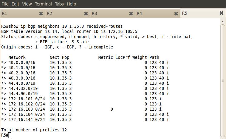 Hacking Cisco: Lab 139 - BGP Soft Reconfiguration
