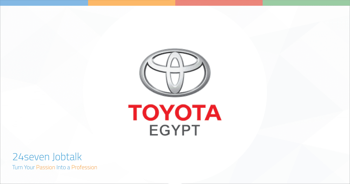 Jobs and Careers at Toyota Egypt