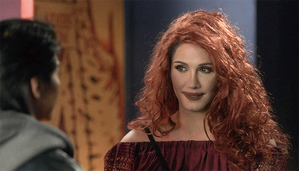 Paolo Ballesteros femulating in the 2016 Filipino film Die Beautiful.