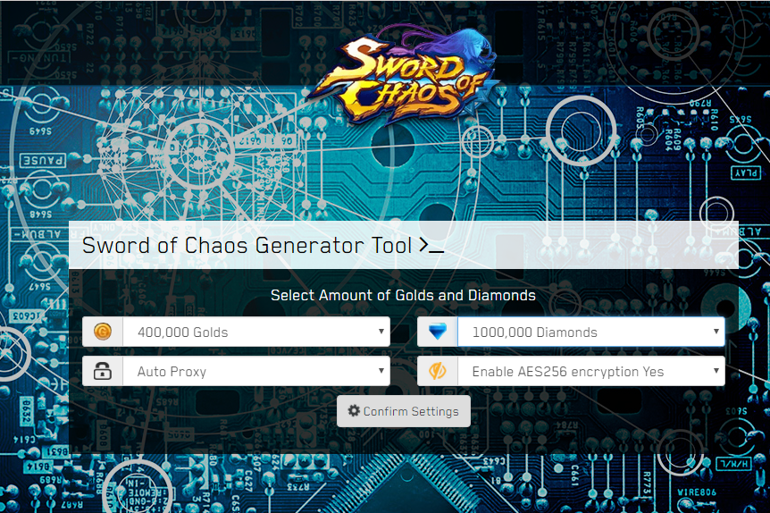 Sword of Chaos Hack Unlimited Golds,Diamonds