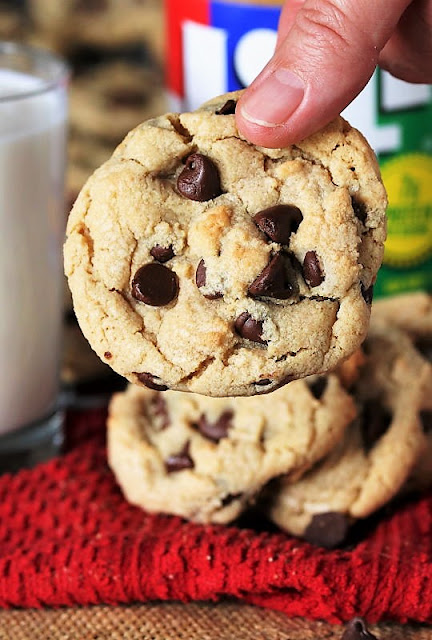 Chocolate Chip Cookies with Peanut Butter Image
