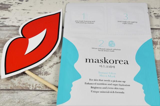 Maskorea Instant Glow Sheet Mask