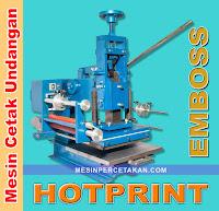 harga mesin hotprint emboss undangan