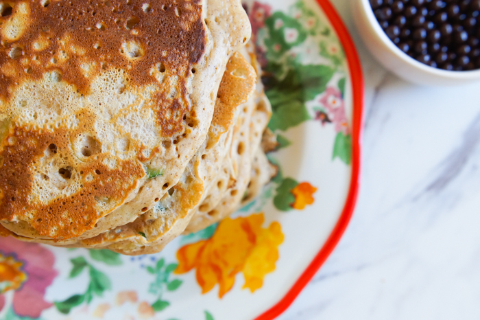 Zucchini Bread Pancakes ♥