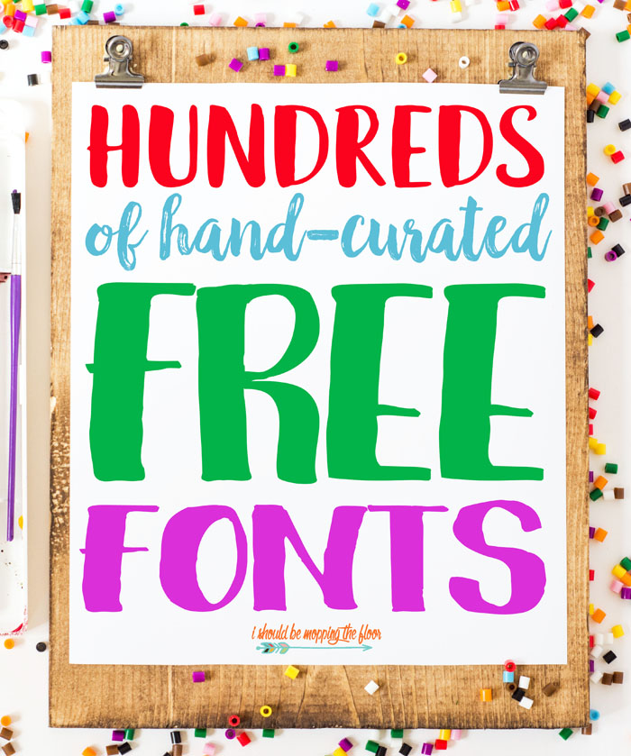 Free Font Collections