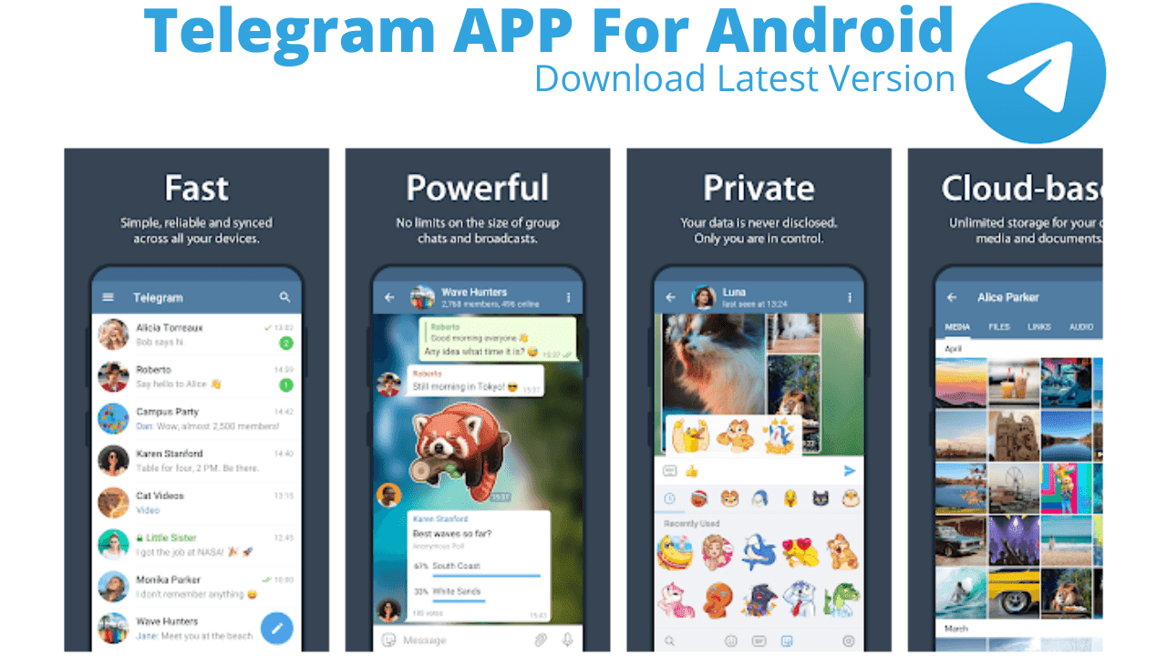 Telegram APP Download For Android Free Latest Version