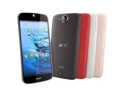 Acer Liquid Jade S Specifications- LAUNCH Announced 2014, December Also Known as Acer Liquid Jade S S56 DISPLAY Type IPS LCD capacitive touchscreen, 16M colors Size 5.0 inches (~69.8% screen-to-body ratio) Resolution 720 x 1280 pixels (~294 ppi pixel density) Multitouch Yes Protection Corning Gorilla Glass 3 BODY Dimensions 143 x 69 x 7.8 mm (5.63 x 2.72 x 0.31 in) Weight 116 g (4.09 oz) SIM Dual SIM (Nano-SIM, dual stand-by) PLATFORM OS Android OS, v4.4.4 (KitKat), upgradable to v5.1 (Lollipop) CPU Octa-core 1.5 GHz Cortex-A53 Chipset Mediatek MT6752M GPU Mali-T760MP2 MEMORY Card slot microSD, up to 32 GB (uses SIM 2 slot) Internal 16 GB, 2 GB RAM CAMERA Primary 13 MP, f/1.8, autofocus, LED flash Secondary 5 MP, f/2.2 Features Geo-tagging, touch focus, face detection, HDR, panorama Video 1080p@30fps NETWORK Technology GSM / HSPA / LTE 2G bands GSM 850 / 900 / 1800 / 1900 - SIM 1 & SIM 2 3G bands HSDPA 900 / 2100    HSDPA 850 / 900 / 1900 / 2100 - EU 4G bands LTE band 3(1800), 8(900), 28(700) - Taiwan  LTE 800 / 1800 / 2100 / 2600 - EU Speed HSPA 21.1/5.76 Mbps, LTE Cat4 150/50 Mbps GPRS Yes EDGE Yes COMMS WLAN Wi-Fi 802.11 b/g/n, hotspot GPS Yes, with A-GPS USB microUSB v2.0 Radio FM radio Bluetooth v4.0, A2DP, EDR FEATURES Sensors Accelerometer, proximity, compass Messaging SMS (threaded view), MMS, Email, Push Email Browser HTML5 Java No SOUND Alert types Vibration; MP3, WAV ringtones Loudspeaker Yes 3.5mm jack Yes  - DTS sound BATTERY  Non-removable Li-Ion 2300 mAh battery Stand-by Up to 250 h (3G) Talk time Up to 6 h (3G) Music play  MISC Colors Black, White, Red, Pink  - MP3/WAV/AAC player - MP4/H.264 player - Photo/video editor - Document viewer