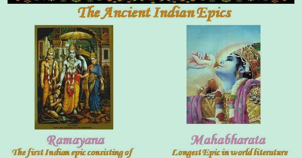 Spiritual Heritage of India: Ancient Indian Epics Ramayana ...