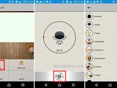 Cara Merubah Suara Kamu Di WhatsApp Menjadi Robot