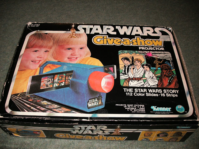 Star Wars Kenner Give-A-Show Projector