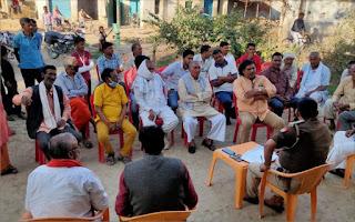 त्रिस्तरीय पंचायत चुनाव को लेकर पुलिस ने ली बैठक  | #NayaSaberaNetwork