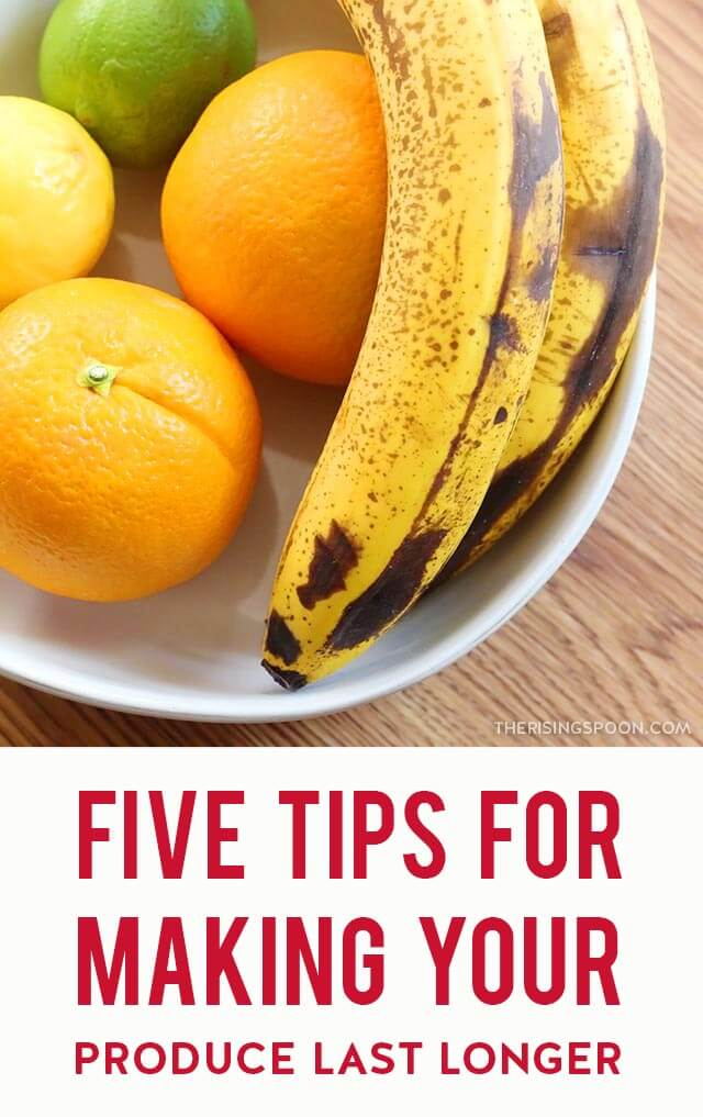Five Simple Tips For Making Your Fruits & Veggies Last Longer So You Can Reduce Food Waste