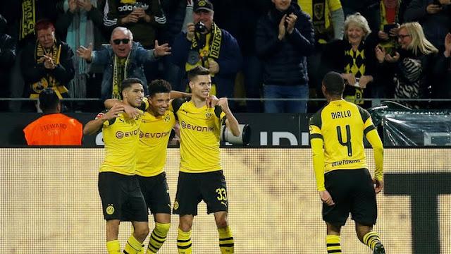 El Dortmund se mantiene en lo más alto de la Bundesliga