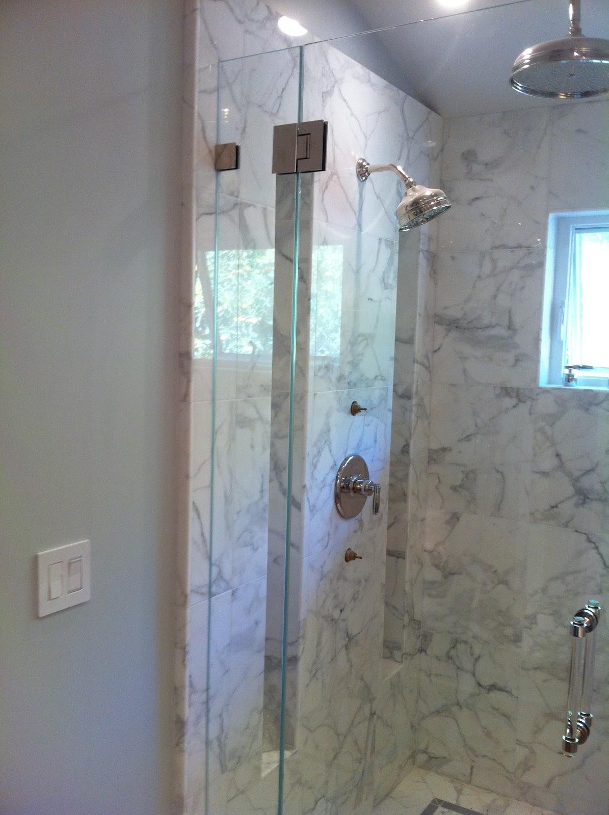Custom Frameless Starphire Shower Doors Ot Glass