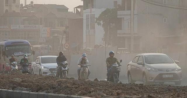 """Lý giải """"lạ"""" của Trung tâm Dự báo Khí tượng thủy văn Quốc gia về sương mù ở Hà Nội"""