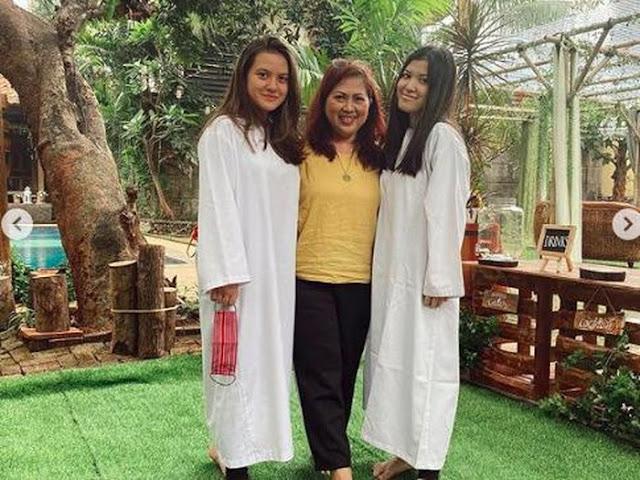 Marsha Aruan Dibaptis, Sang Ibunda Panjatkan Doa Menyentuh