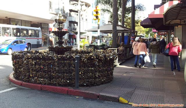 Fonte dos Cadeados em Montevidéu
