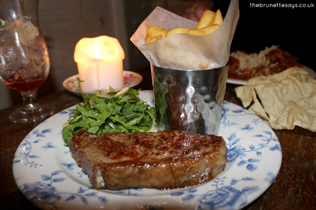 cosy club, sirloin steak, review