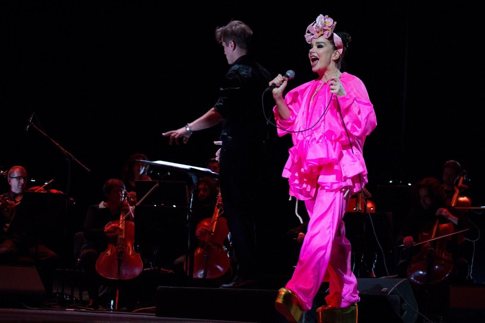 björk guðmundsdóttir: Björk - Live @ Governors Ball