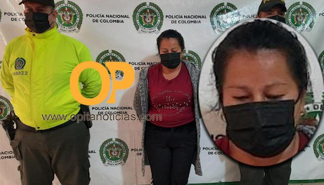 Capturada Mujer que ayudó a robar una moto en Pitalito.