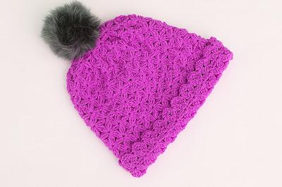 6 - Crochet Imagenes Gorro de lana a crochet con pompom por Majovel Crochet