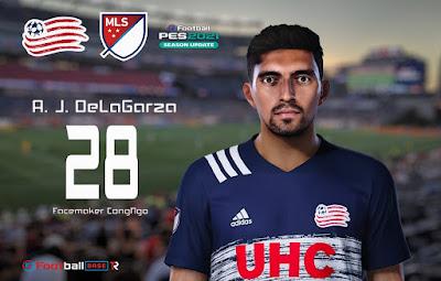 PES 2021 Faces A. J. DeLaGarza by CongNgo
