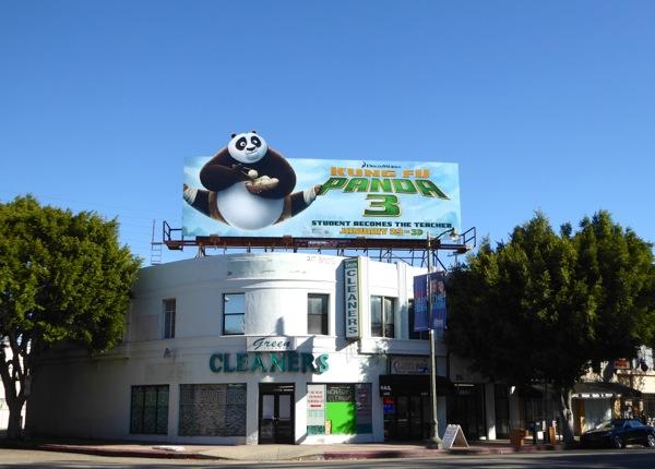 Kung Fu Panda 3 splits billboard