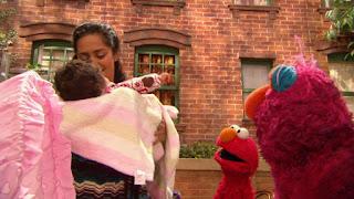 Nila, Leela, Elmo, Telly, Sesame Street Episode 4308 Don't Wake the Baby