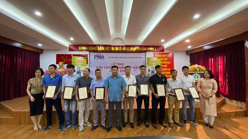Giấy chứng nhận Hội viên Hội Phòng trừ côn trùng Việt Nam