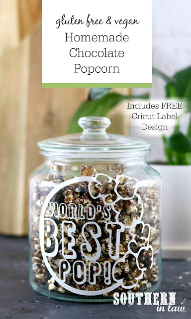 World's Best Pop Father's Day Gift Idea with Homemade Chocolate Popcorn Recipe